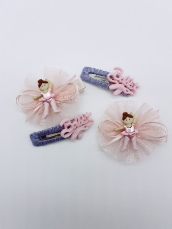 芭蕾舞女孩髮飾套組
