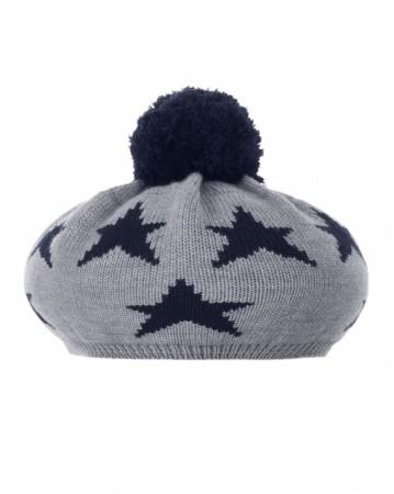 西班牙製星星毛帽