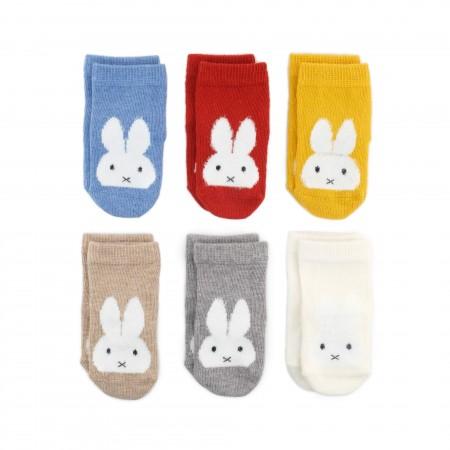 義大利Etiquette x Miffy米飛兔聯名禮盒超值6襪組