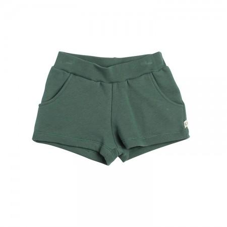 舒適休閒柔軟短褲(墨綠色)
