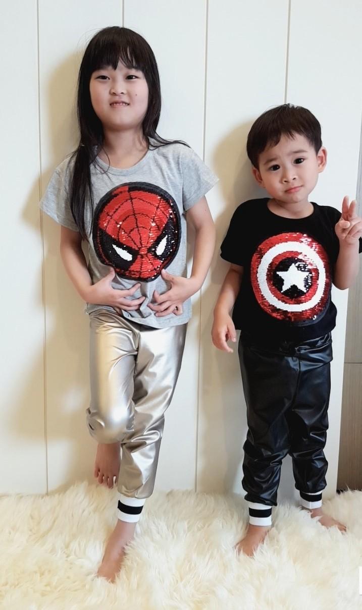 美國隊長&蜘蛛人棉質T恤