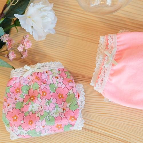 粉紅花瓣內褲組(二入)