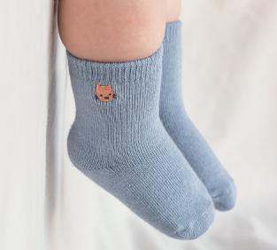 精選刺繡兒童棉襪
