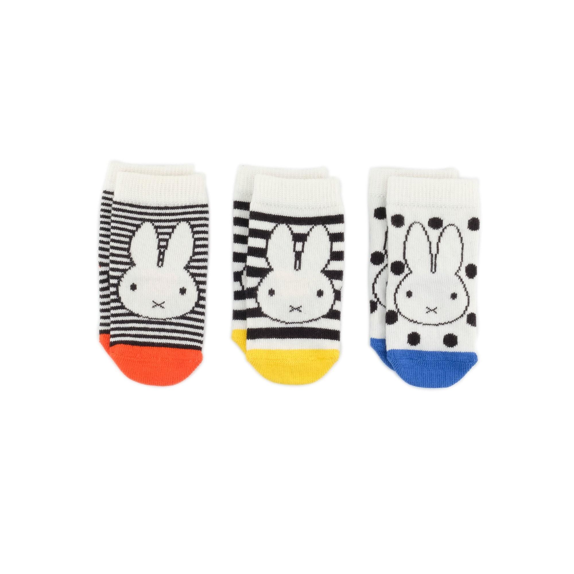 義大利Etiquette x Miffy米飛兔聯名禮盒3襪組