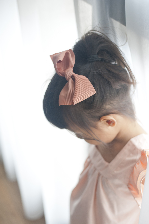 立體大蝴蝶結髮夾