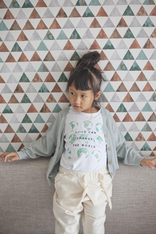 孩子愛地球(白色)