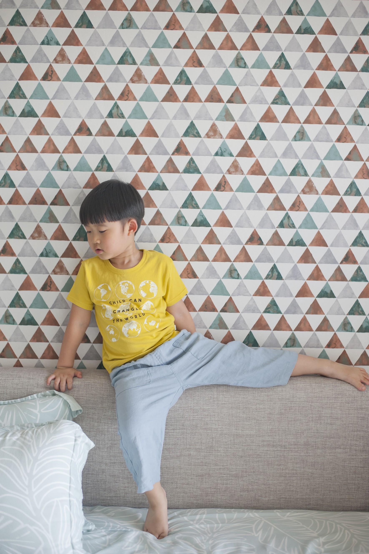 孩子愛地球(黃色)