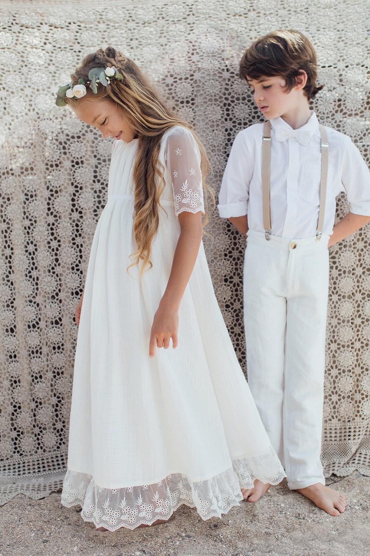 氣質純棉長洋裝