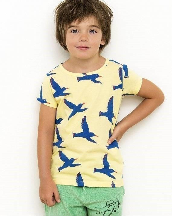 有機棉 遨遊飛翔的青鳥 T恤