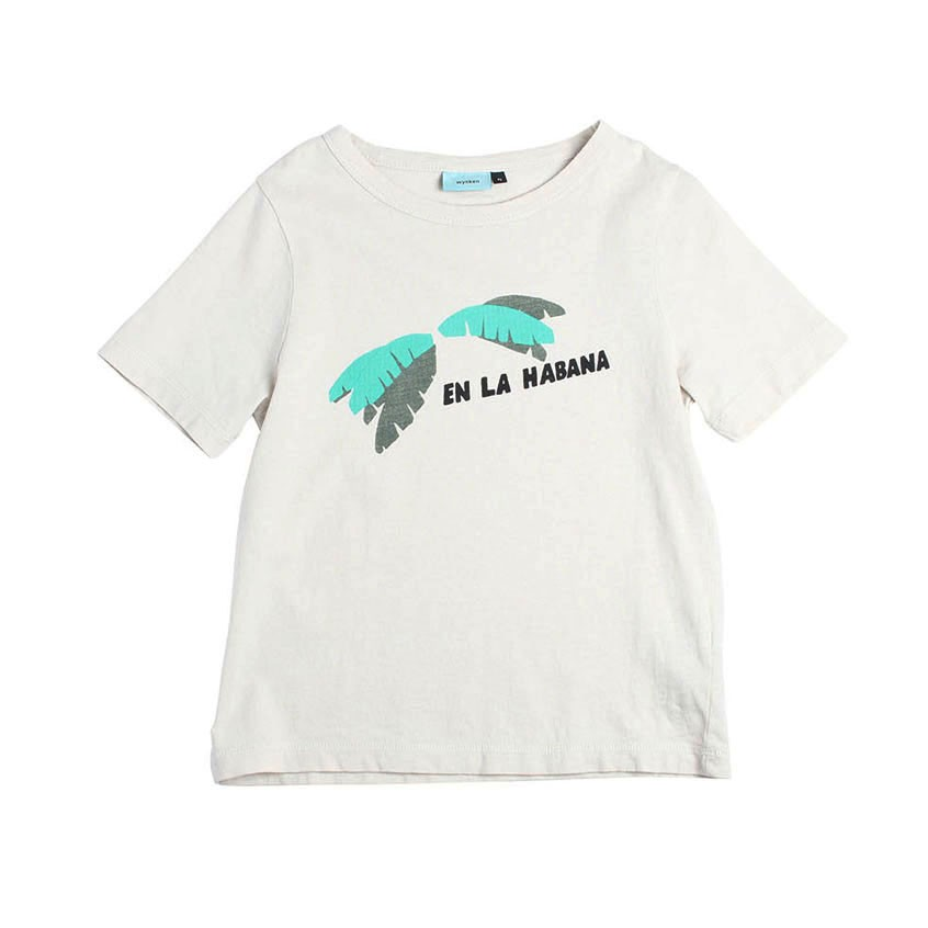 有機棉熱情古巴香蕉樹 T恤