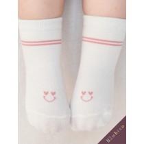 愛心微笑童襪