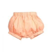 刺繡點點邊橘色燈籠褲