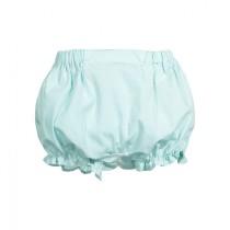 Tiffiny綠荷葉短褲