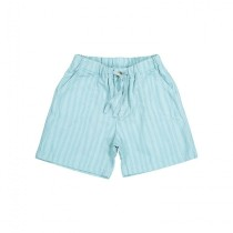 綠紋直條短褲