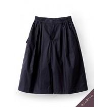 國際品牌設計師-深藍褲裙