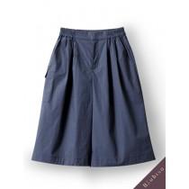 國際品牌設計師-墨綠褲裙