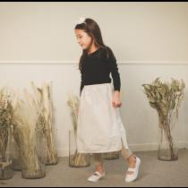 氣質蕾絲親子裙