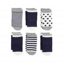 義大利Etiquette彌月襪子禮盒 0-12M 藍色