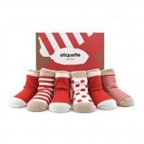 義大利Etiquette彌月嬰兒襪禮盒 0-12M