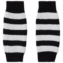 條纹保暖襪套