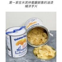 油漆桶洋芋片 不管幾桶運費都$100 疫情影響物流將可能六月底之前陸續出貨 可等在下訂