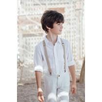 法式風情白襯衫