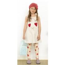 有機棉 可愛大櫻桃連身裙