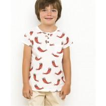 有機棉 蝦蝦T恤