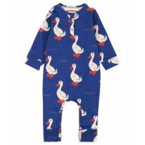 歐盟認證有機棉 可愛鴨鴨連身衣