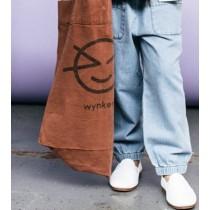 袖口漂白休閒褲