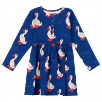 歐盟認證有機棉 可愛鴨鴨裙
