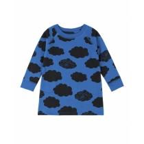 歐盟認證有機棉 藍雲朵長衣