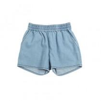 輕柔牛仔短褲